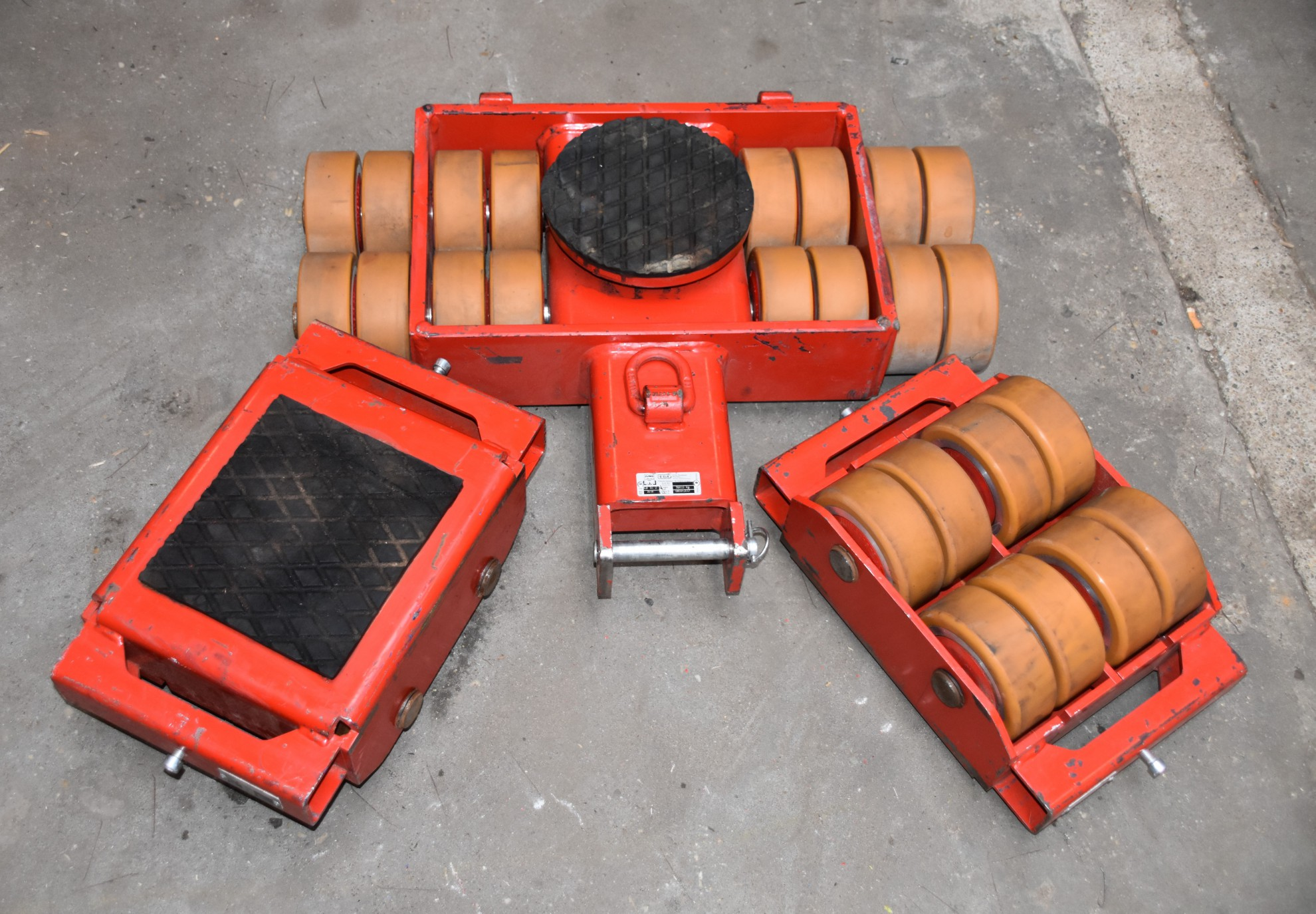 Transportsets van 6 Ton t/m 20 Ton