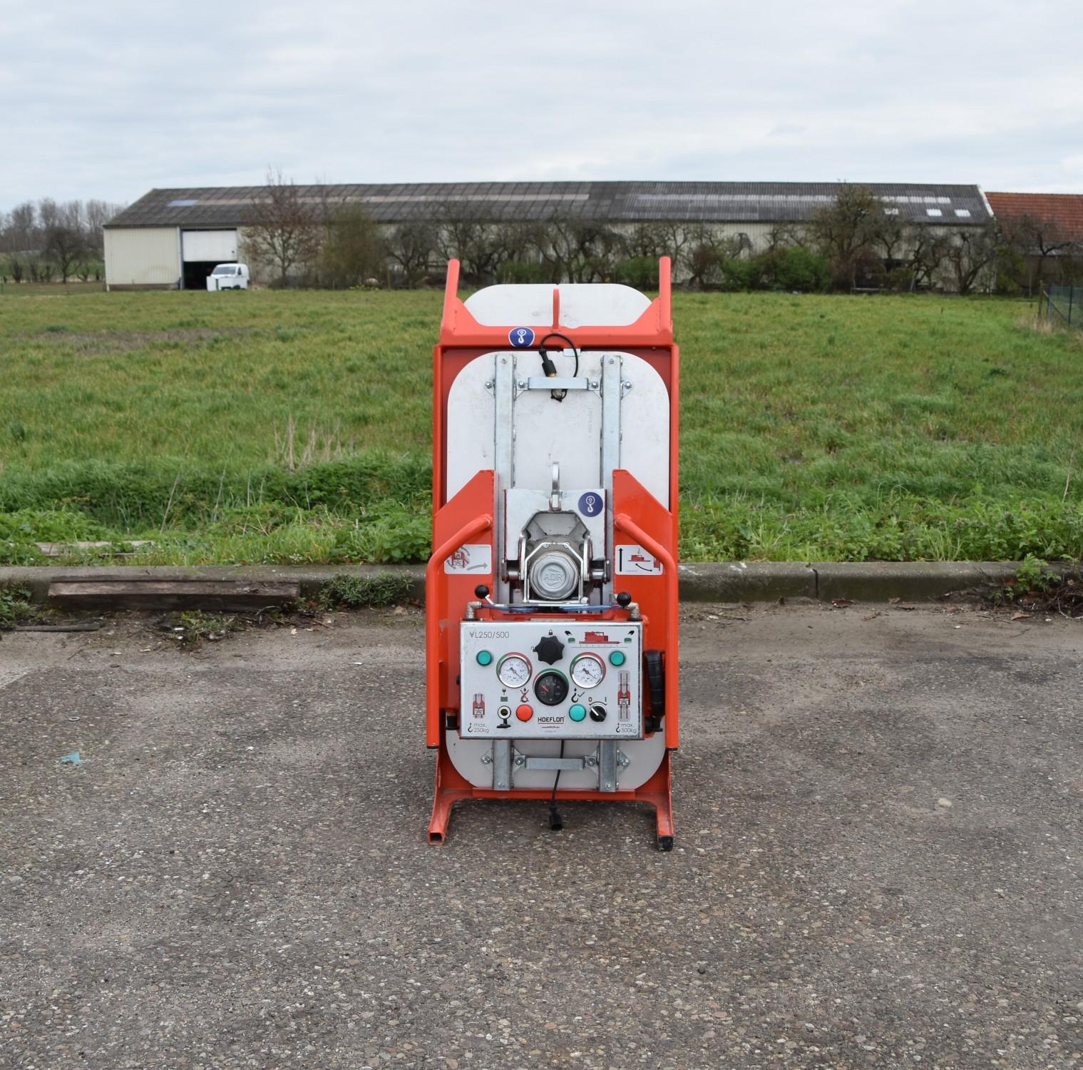 Hoeflon VL500 glaszuiger